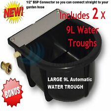 Automatic Float Valve 9 L Water Trough Bowl Cattle Chicken Horse Sheep Dog