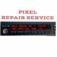 BMW E38 E39 E53 M5 X5 RADIO Pixel Repair Service  5 SERIES 7 SERIES