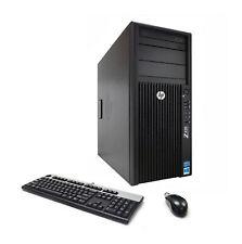 HP Z420 6-Core Xeon E5-1650v2 3.50GHz 32GB Ram 480GB SSD 2TB Quadro K4000 3GB