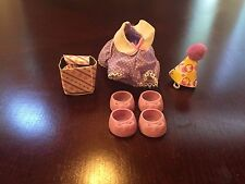 Vintage G1 My Little Pony MLP Party Time Ponywear Outfit Clothes Shoes COMPLETE