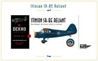 Stinson SR-8E Reliant - Northeast Airlines - DEKNO models - 1/72 - resin kit