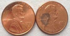 USA 1 cent 2007 & 2007 D coin