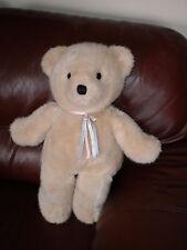Large Dakin Cuddles? Teddy Bear 22 Inch Beige 1991 Soft Excellent Condition