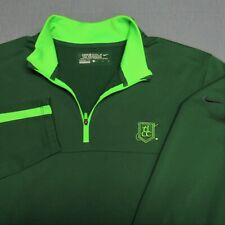 NIKE TOUR THERMA-FIT POLY 1/4 ZIP GOLF PULLOVER--L-LOGO--BEAUTIFUL!--TOP QUALITY