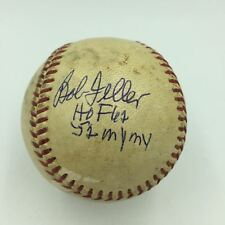 "1952 Bob Feller Signed Inscribed ""My My"" American League Baseball With JSA COA"