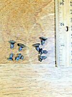 American Eight Day Clock Movement Mounting Screws  (Clock Screw Lot K4031)