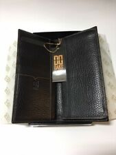 DAKS London | Simpsons of Picadilly Boxed Leather Wallet in Black ** NEW **