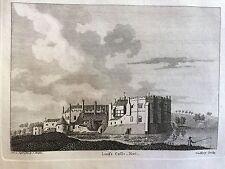 1784 Print of Leeds Castle, near Maidstone, Kent