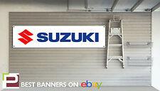 Suzuki Motorcycles Workshop Garage Banner, GSX-R, Hayabusa, Bandit, Katana, GS