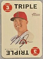 2017 Topps Heritage MIKE TROUT Triple SP 1968 Insert Los Angeles Angels #4
