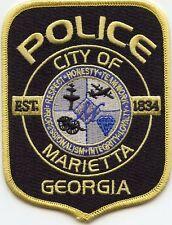 MARIETTA GEORGIA GA POLICE PATCH