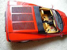 Pocher 1/8 Ferrari Testarossa Spider Rear Metal Hood Grille NEW
