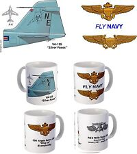 """VA-155 """"Silver Foxes"""" A-4, A-6, or A-7 Mug with FREE personalization"""