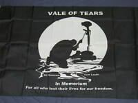 3X5 POW MIA VALE OF TEARS FLAG AD HONOREM CUM LAUDE 757
