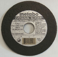 "5PK 6/"" x .040/"" x 7//8/"" A60TZ T1 Cut-Off WheelMetabo Original Slicer 655339000"