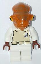 LEGO Star Wars ADMIRAL ACKBAR Minifigure 7754 Battle over Endor