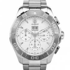 TAG Heuer Aquaracer Adult Silver Strap Wristwatches