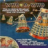 Various Artists : Who Is Doctor Who? CD Highly Rated eBay Seller Great Prices