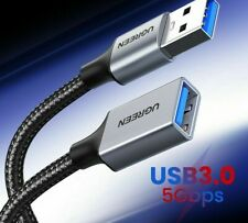 USB 3.0 Extension Data Cable Standard Flash Drive PC TV Male Female Devices Cord