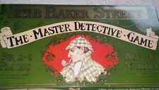 221B BAKER STREET BOARD GAME BY GIBSON GAMES VINTAGE EDITION SHERLOCK HOMES