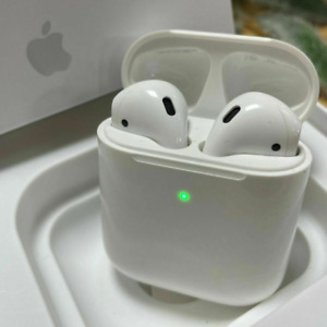 NEW Apple AirPods 2nd Generation Headphone with Wireless Charging Case Bluetooth