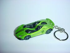 NEW 3D LAMBORGHINI AVENTADOR J CUSTOM KEYCHAIN KEY CHAIN keyring BACKPACK BLING