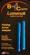 Burt Coyote Lumenok Fishing Arrow Adapter 2 Pack Blue NEW LFAD