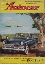 Autocar 2/6/1961 featuring Austin Healey Sprite road test, Acropolis Rally