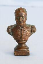 Antique Brass Bust France Napoleon Marshall Ney Waterloo