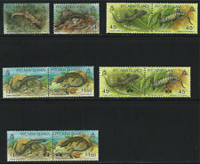 Pitcairn IslandsSC389,392Pairs390-391,393-394,395-396,397-398VarietyOfLizards'93