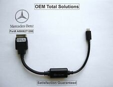 OEM 2013-14-15 Mercedes Benz Genuine iPhone Lightning Music Cable Adapter #1200