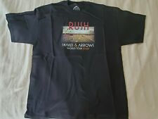 Rush 2007 Snakes And Arrows Tour Shirt Official Never Worn Black #1