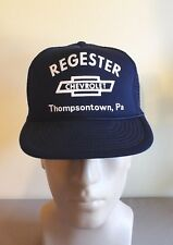 THOMPSONTOWN, PA REGESTER CHEVROLET TRUCKER HAT