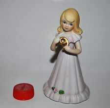 Enesko Growing Up Birthday Girl 9 Blonde Pink Dress Rose 1981 Collect Free S&H