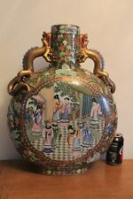 Imposant vase Pansu chinois, chine ancien Cachet Rouge à identifier, dragons