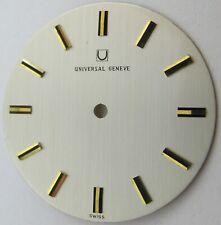 Universal Geneve silver Dial watch parts diameter 30.5 millimeters