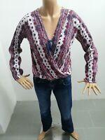 Maglia HOLLISTER donna taglia size S sweater woman pull femme P 6290