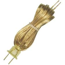 (72)-Westinghouse Gold 18/2 X 8' Replacement Swag Lamp Electric Cord 70105