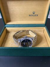 Rolex Oyster Perpetual DateJust 36mm 16234 - Blue Roman Numeral Dial (2002)