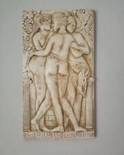 Nymphe Stuck gips groß Griechische Skulptur Griechisches Bild Relief Greek