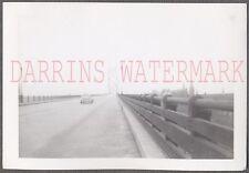 Vintage Photo Ambassador Bridge Between Detriot Michigan & Windsor Canada 687593
