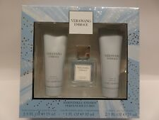 VERA WANG EMBRACE PERIWINKLE AND IRIS EDT GIFT SET NEW