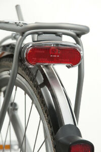 AXA Riff / Spark Pannier Rack Mount Battery Light Bicycle Bike Cycle 50 / 80mm