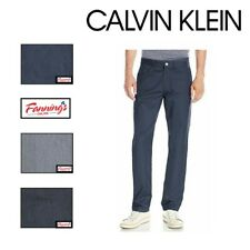 NEW! Calvin Klein Men's Textured Twill Cotton Casual Dress Pants VARIETY - A11