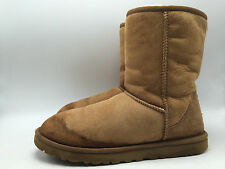 12A7 Ugg Australia Classic Short 5825 Slip on Cozy Boots Women Shoes Size 8