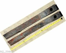 "International Rotary Cutter Blades Code IM6, Set of 2,  31-1/2"" X 3"" X 1/2"""