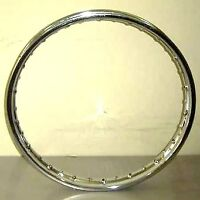 "GENUINE HONDA PART (NOT A CHEAP COPY) CG 125 FRONT WHEEL RIM & SPOKE SET 19"" NEW"