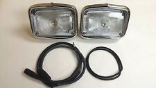 1956 Chevy Belair 210 150 Parking Light Housing Assembly Pair Made in the USA