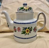 Vintage Price Kensington Teapot Floral Design, With Gilt,  Made in England