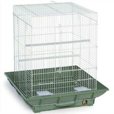 Prevue Clean Life 851 Playtop Bird Cage, Green/White New
